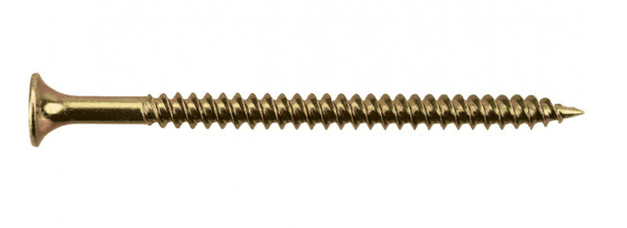 6, 8 and 10 Gauge, Needle Point, Bugle Head Screws for Drywall - Zinc Plated Pack of 1000