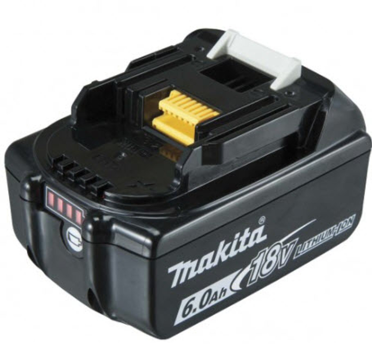 MAKITA  BL1860B-L  6.0AH 18V LITHIUM-ION BATTERY