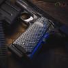 VZ Recon Black Gray G-10 grips on a black Colt® 1911