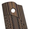 VZ ETC Hyena Brown G-10 1911 Grip Thumbnail.