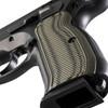 VZ Grips' Tactical Diamond G-10 CZ 75 grips, hero photo