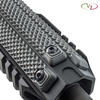 Three VZ Recon 3-Slot M-LOK Rail Cover in Black Gray G-10
