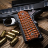 VZ Hydra™ Tiger Stripe on a black  Colt® 1911