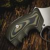 VZ Grips' VZ 320 Dirt Olive G-10 Grips for Smith & Wesson K-Frame or L-Frame Revolvers, Lifestyle photo