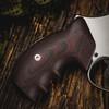 VZ Grips' VZ 320 Black Cherry G-10 Grips for Smith & Wesson K-Frame or L-Frame Revolvers, Lifestyle photo