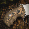 VZ Grips' VZ 320 Hyena Brown G-10 Grips for Smith & Wesson K-Frame or L-Frame Revolvers, Lifestyle photo