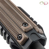 Three Alien® 3-Slot M-LOK Rail Cover in Hyena Brown G-10