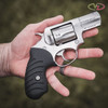 VZ Twister Black G-10 grips for a Ruger SP101