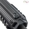 Three VZ FRAG 3-Slot M-LOK Rail Cover in Black G-10