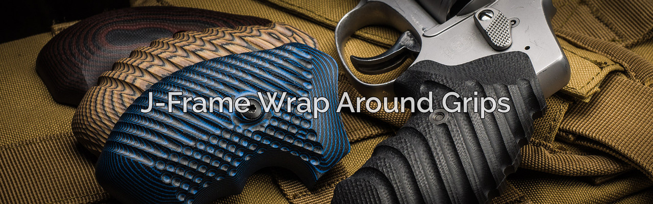 Smith and Wesson J-Frame Wrap Around Grips