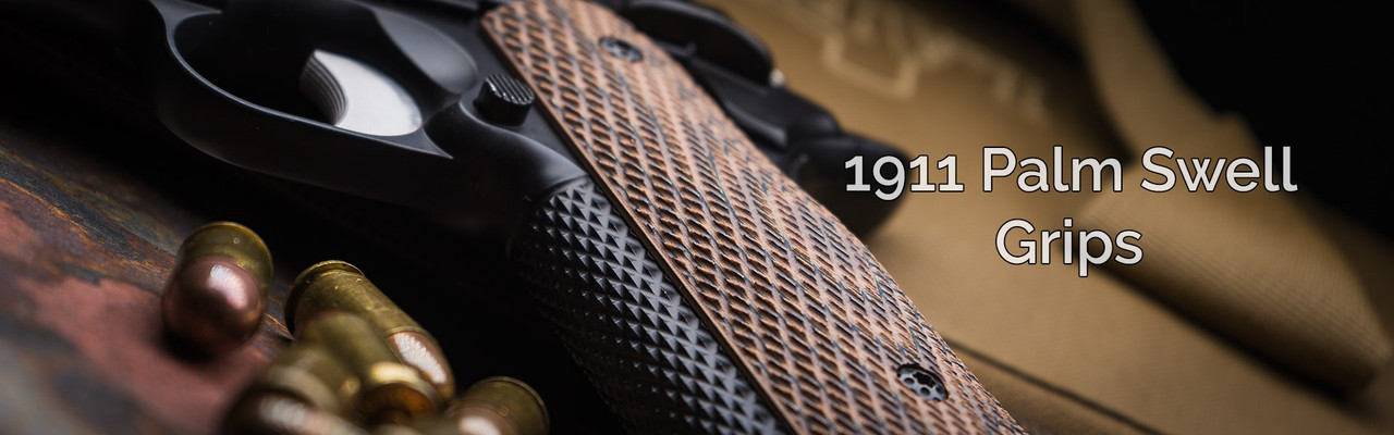 1911 Palm Swell Grips