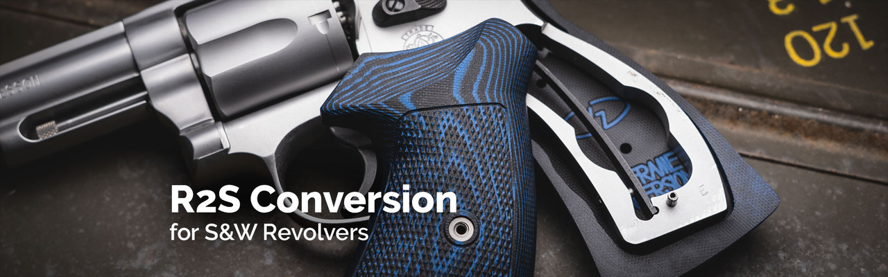 Smith and Wesson Round To Square Conversion Grips