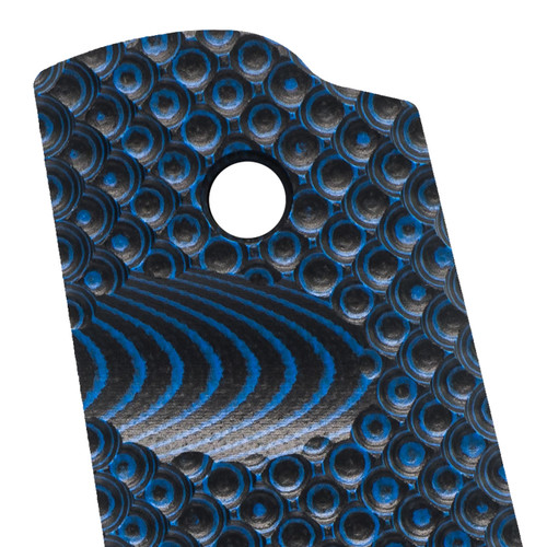 VZ Recon Blue Black G-10 1911 Grip Thumbnail
