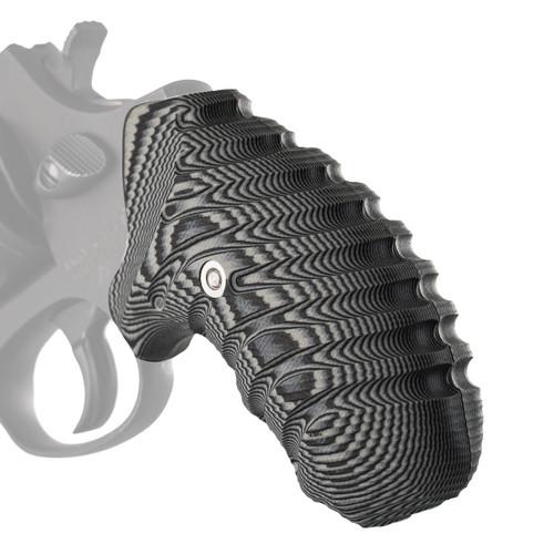 VZ Grips' VZ Twister G-10 grips for Taurus Small Frame Revolvers (TSR).