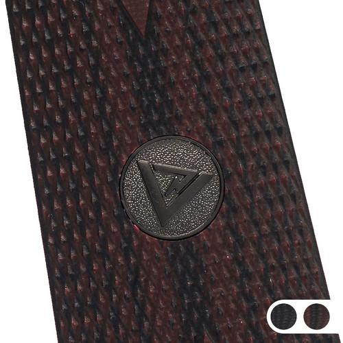 Larry Vickers Double Diamond G-10 1911 grips thumbnail.