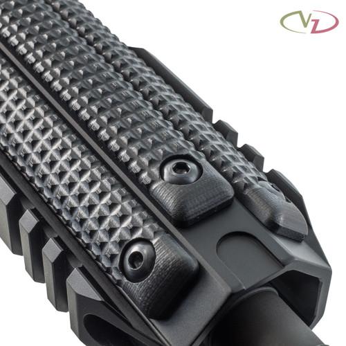 Three VZ FRAG 3-Slot M-LOK Rail Panels in Black G-10