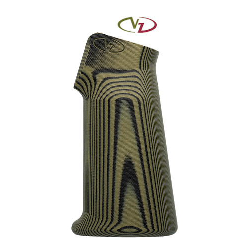 AR 15 - Rifle Grip* - VZ 320 - Dirty Olive - Full Size *Compatible with AR-15 and SCAR