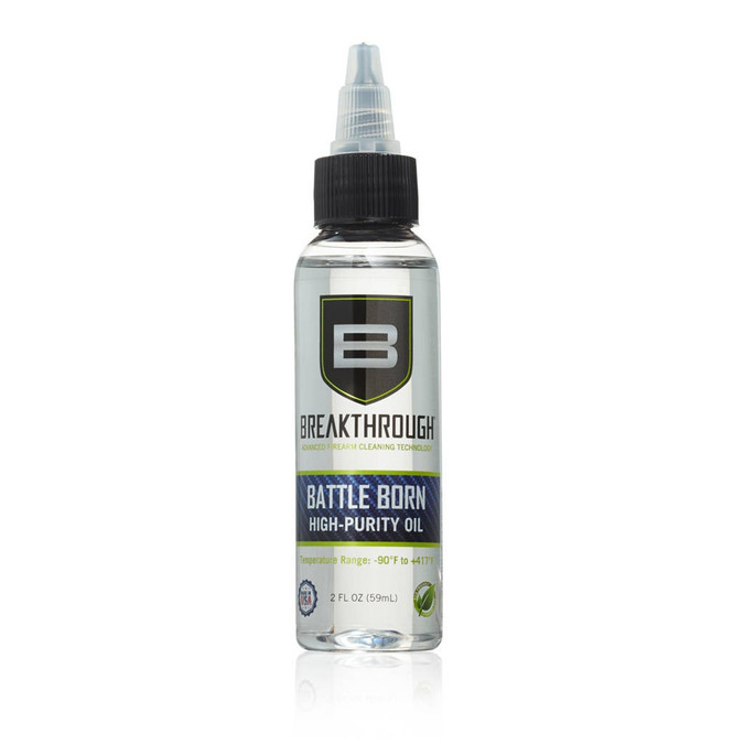 Breakthrough© Battle Born High Purity Oil - 2oz Bottle