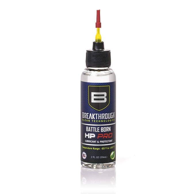 Breakthrough© Battle Born HP Pro Lubricant and Protectant - 2oz Bottle