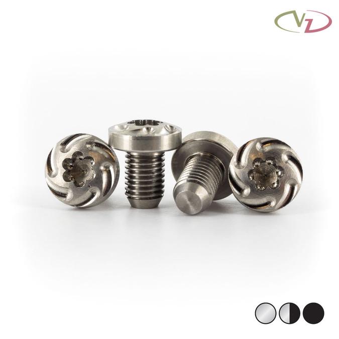 VZ Grips' Trubo 1911 grip screws in stainless finish.