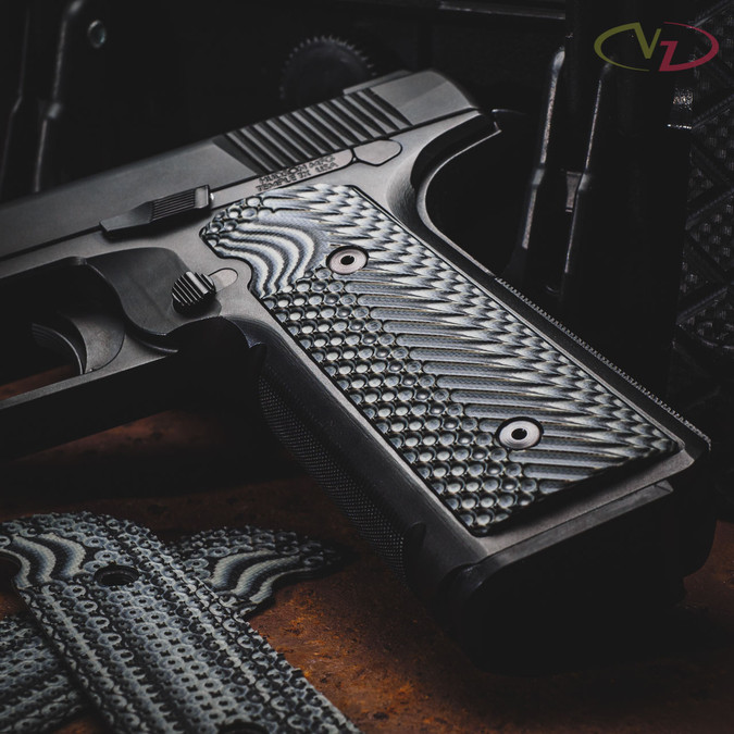Hudson H9 with VZ Operator II™ Black Gray grips