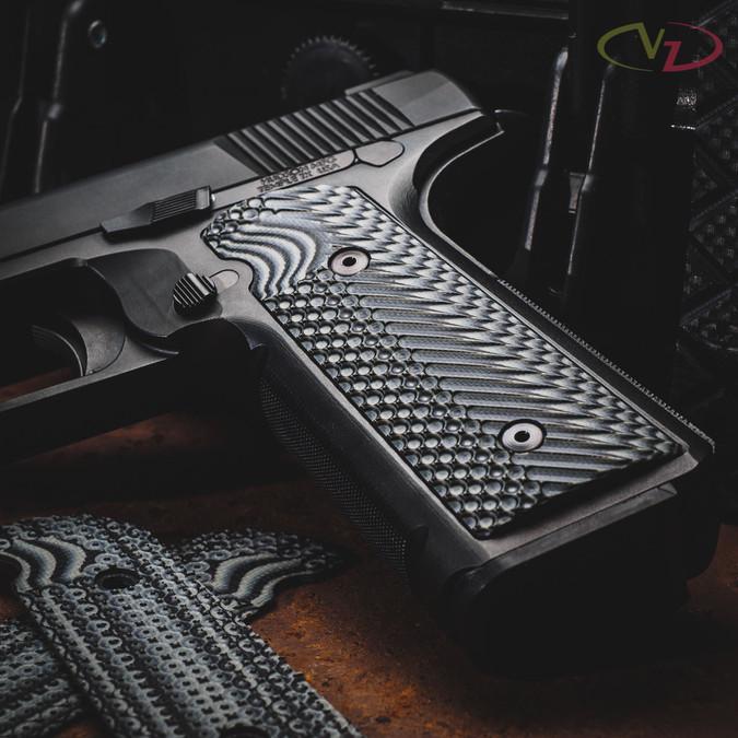 Hudson H9 with VZ Operator II™ Black Gray grips