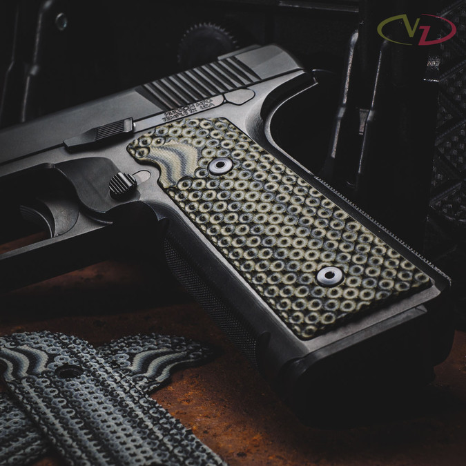 Hudson H9 with VZ Ripper™ Dirty Olive grips