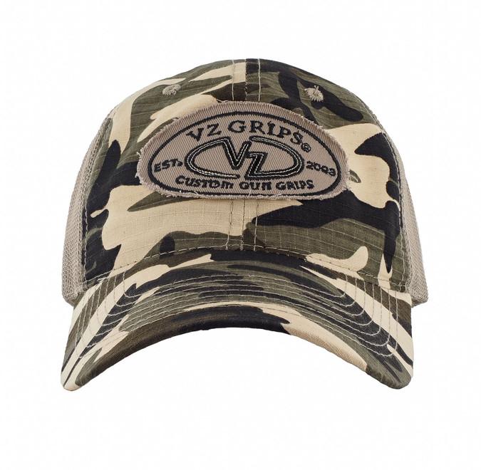 VZ Camo Mesh Hat - Front