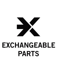 exchangeable parts