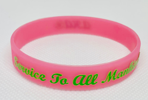 Silicone Bracelet -Service To All Mankind