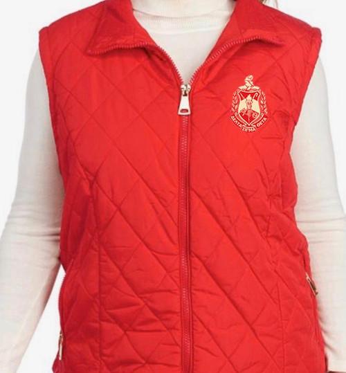Delta Sigma Theta Quilted Vest