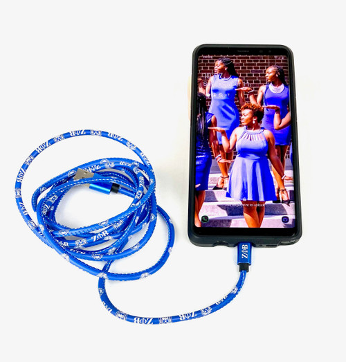 Zeta Phi Beta  CHARGING CABLE – Android Type C