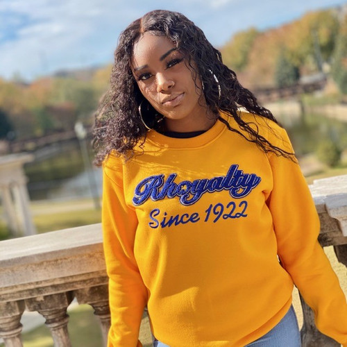 Rhoyalty Since 1922 Chenille Sweatshirt