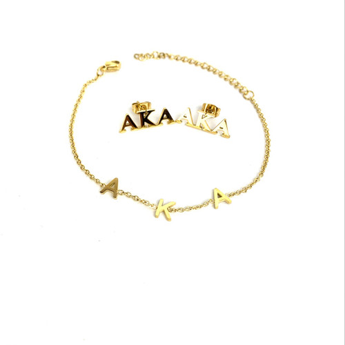 AKA Bracelet and Earrings Gift Set