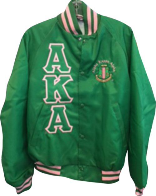 AKA Green Coach's Jacket-Large