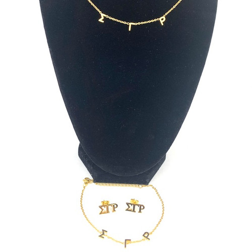 """SGRho  Adjustable 16""""- 18"""" Necklace and Bracelet Get a Pair of Earrings Free"""