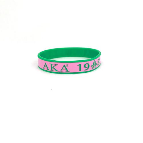 AKA 1908 Silicone Bracelet