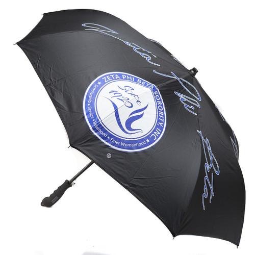 Zeta Phi Beta Inverted Umbrella