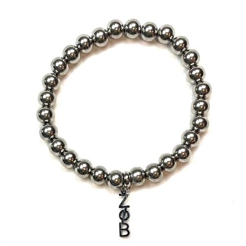 Zeta Phi Beta Dangle Bead Bracelet