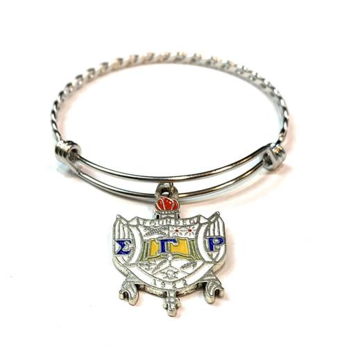 SGRho Shield  Charm Bracelet