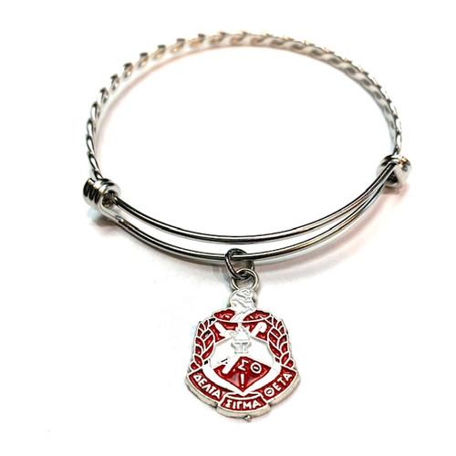 DST Shield Charm Bracelet