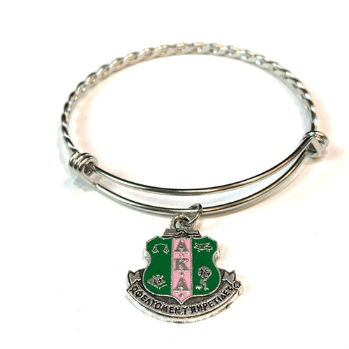 AKA Shield Charm Bracelet