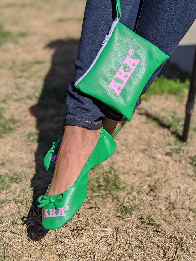 AKA GREEN SLIPPERS