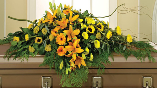 All Yellow Casket Spray-FNAY-02