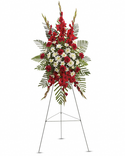 Reds and Whites Standing Spray-FNRSS-02