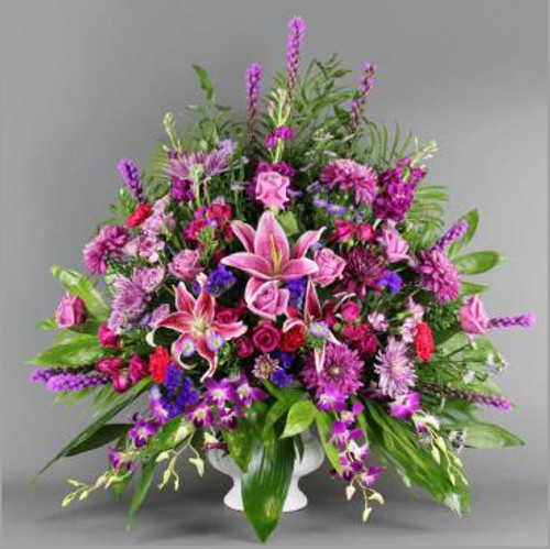 Colorful Sympathy Basket-FNFSB-04