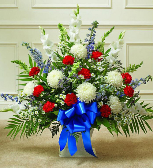 Patriot Sympathy Basket-FNFSB-12