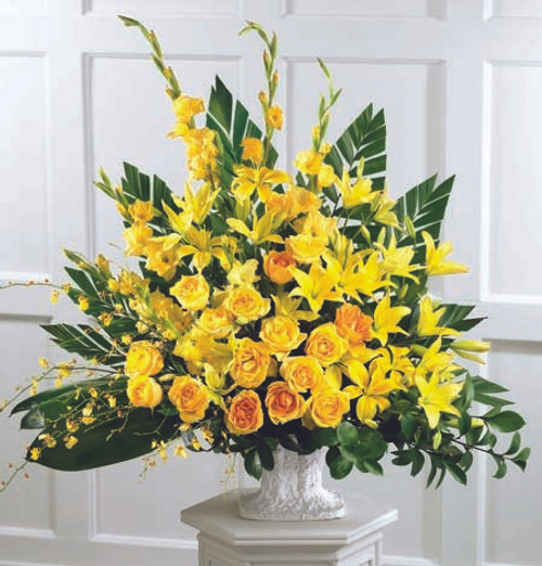All Yellow Sympathy Basket-FNFSB-16
