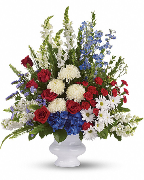 Patriot Sympathy Basket-FNFSB-31