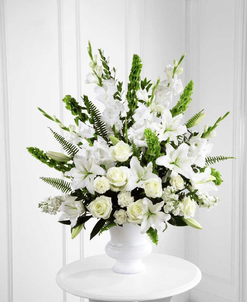 All White Sympathy Basket-FNFSB-34